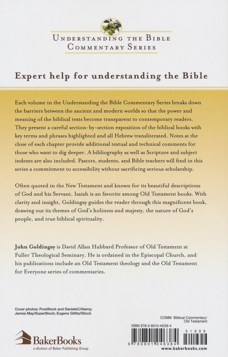 Isaiah: Understanding the Bible Commentary Series