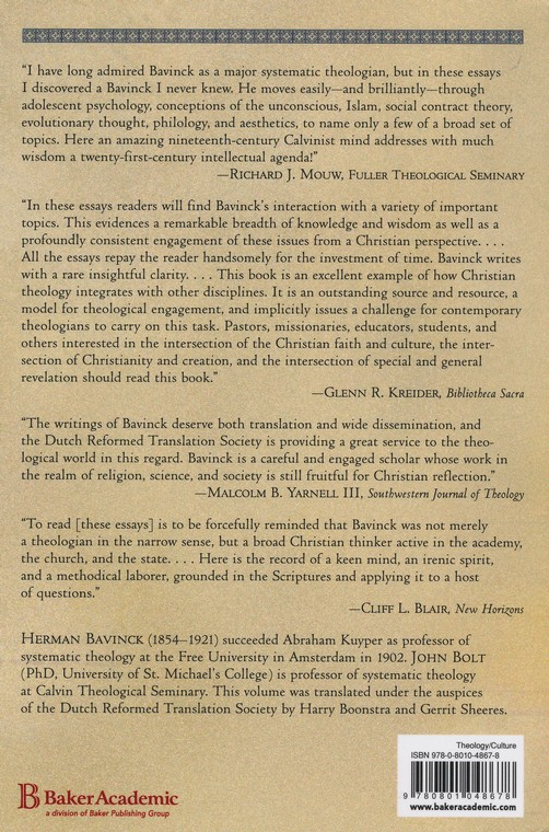 Essays On Religion Science And Society Edited By John Bolt By  Essays On Religion Science And Society Edited By John Bolt By Herman  Bavinck   Christianbookcom