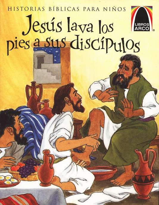Jes&#250s Lava los Pies a sus Disc&#237pulos  (Jesus Washes Peter's Feet)