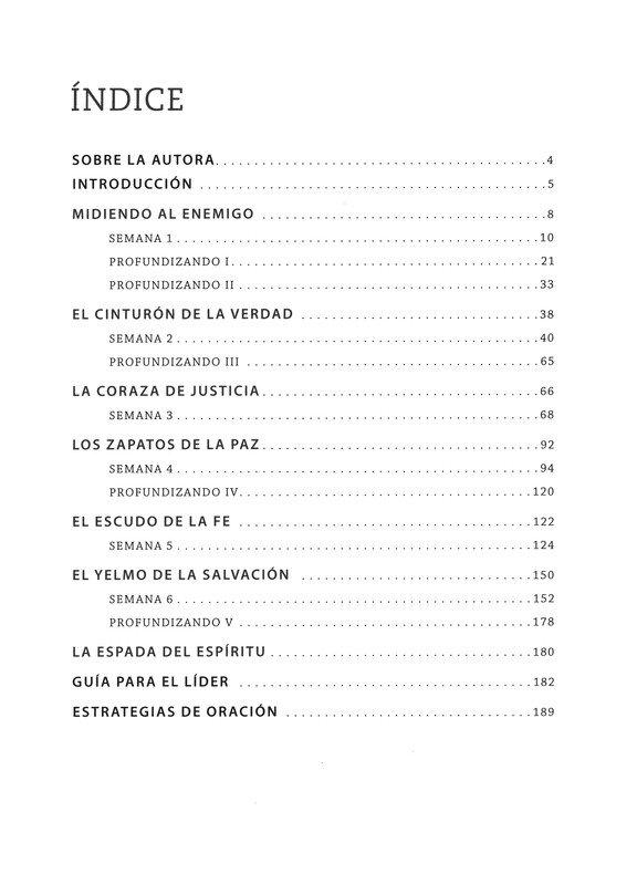 La Armadura de Dios, Estudio Biblico (The Armor of God, Bible Study Book)