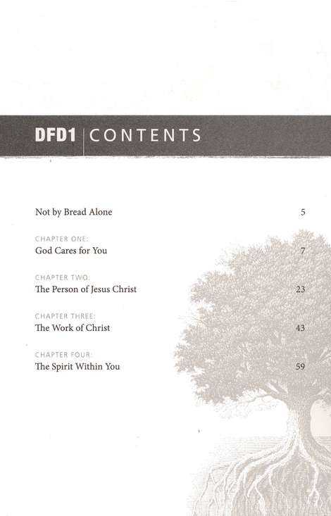 DFD 1 Your Life In Christ