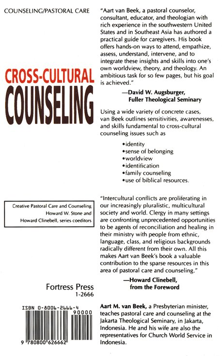 Cross Cultural Counseling