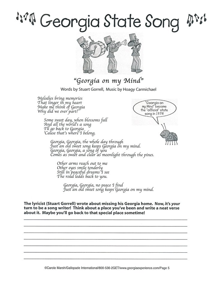 Georgia Big Activity Book, Grades K-5