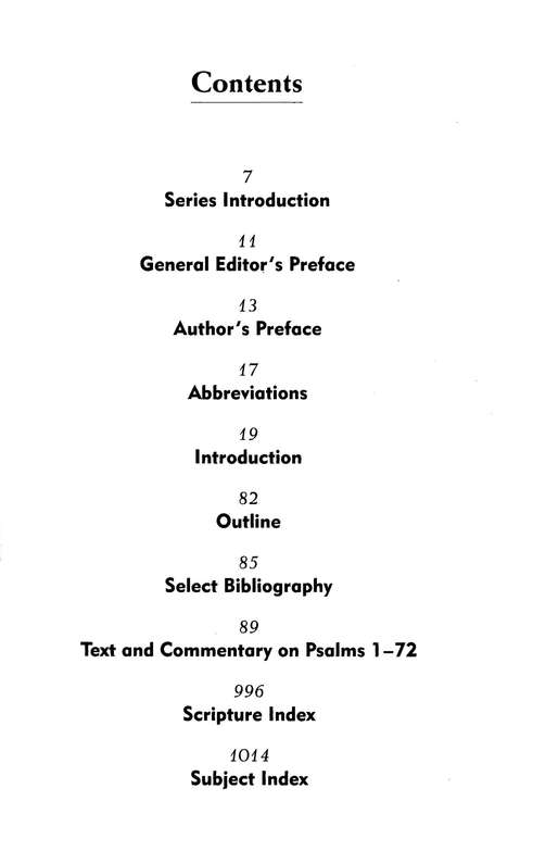 Psalms, Vol. 1: NIV Application Commentary [NIVAC]