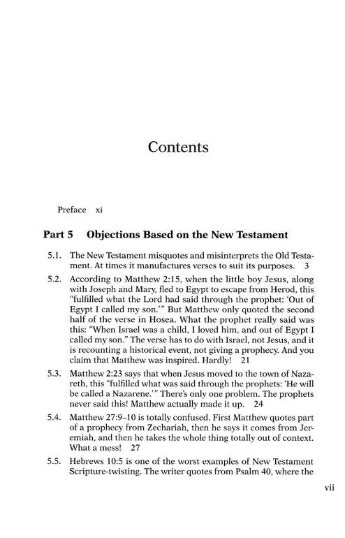Answering Jewish Objections to Jesus, Volume 4: New Testament Objections