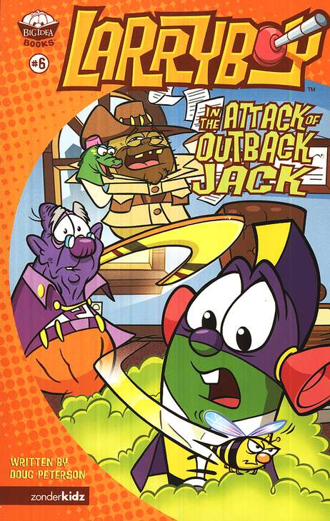 The Attack of Outback Jack, Larryboy Books #6