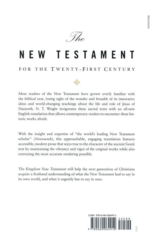 The Kingdom New Testament: A Contemporary Translation, Hardcover