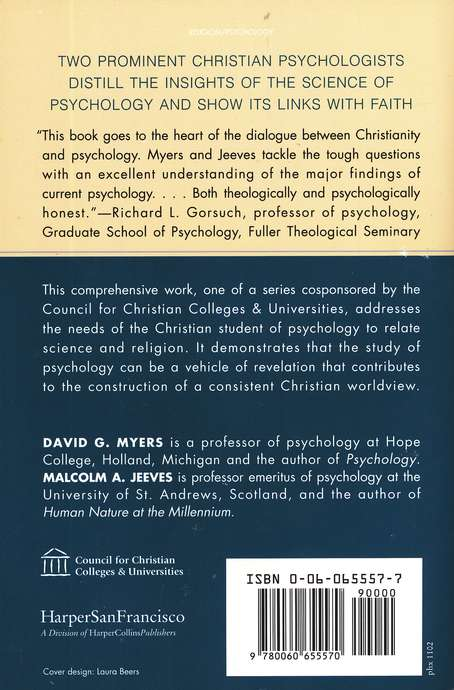 Psychology: Through the Eyes of Faith