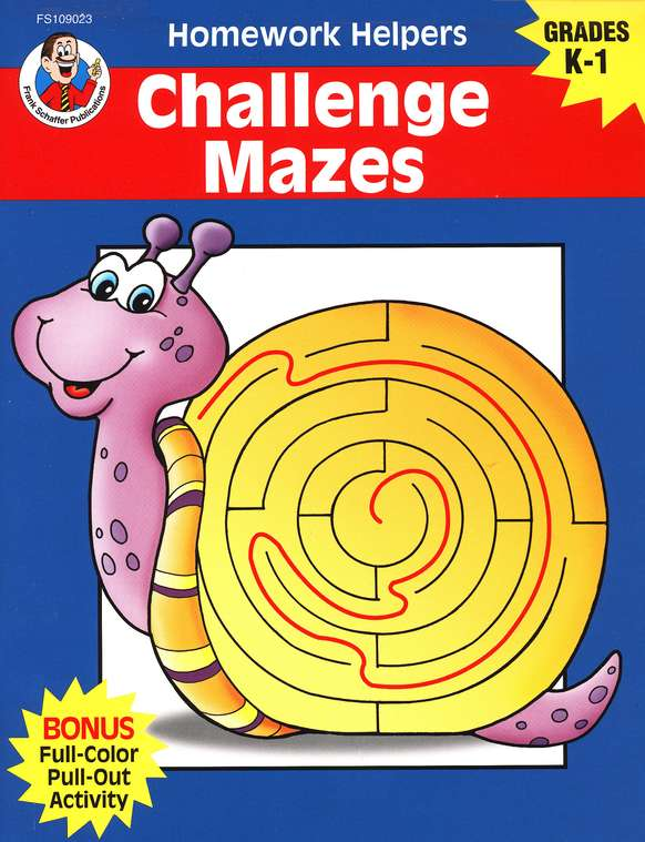 Challenge Mazes (K-1) Homework Helper