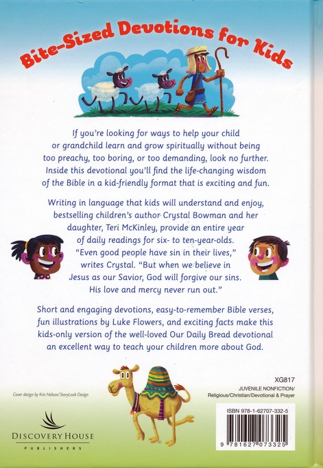 Our Daily Bread For Kids 365 Meaningful Moments With God Crystal Bowman 9781627073325