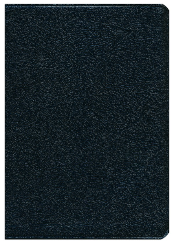 NKJV Thompson Chain-Reference Bible, Black Bonded Leather,  Thumb-Indexed