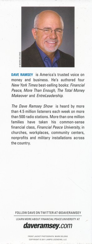 Dave Ramsey's Complete Guide to Money The Handook of Financial Peace University