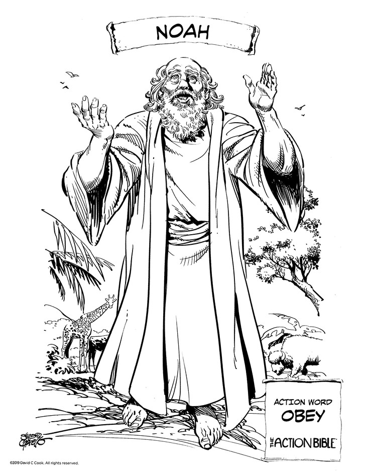Action Bible Coloring Book: 9780830775903 - Christianbook.com