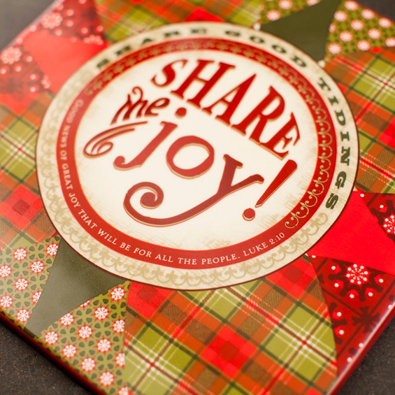 Share the Joy Christmas Trivet