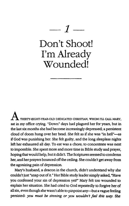 Why Do Christians Shoot Their Wounded
