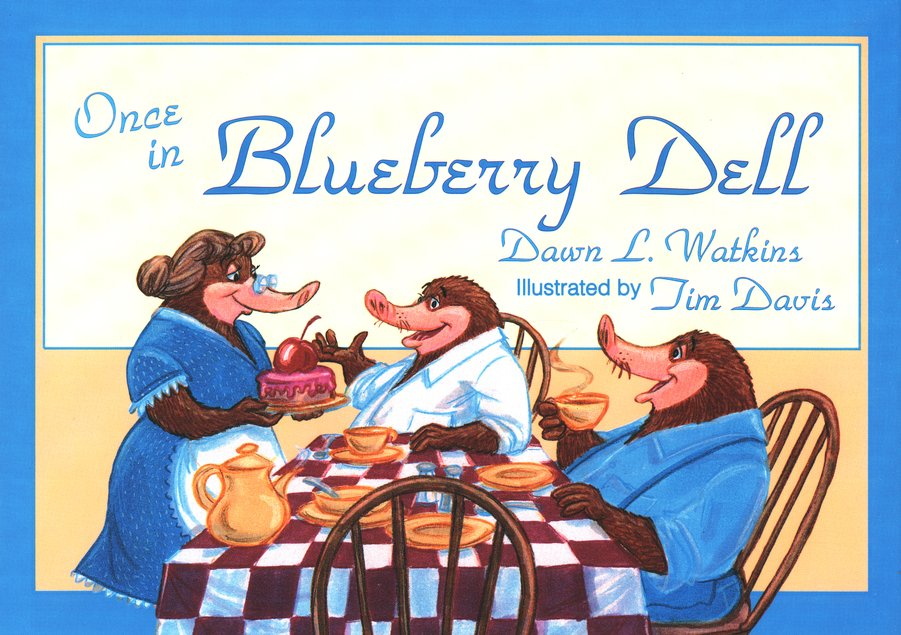 BJU Once in Blueberry Dell
