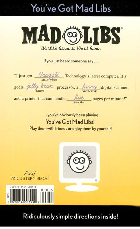 Mad Libs: You've Got Mad Libs