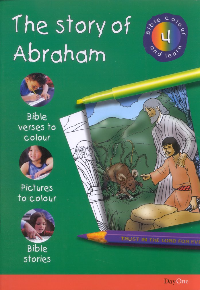 Bible Colour and Learn: 04 The Story of Abraham