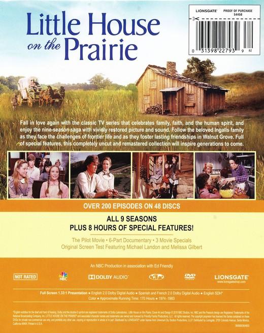 little house on the prairie blu ray region b
