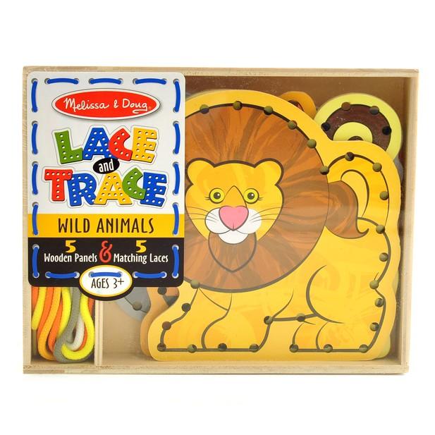 Lace /& Trace Wild Animals