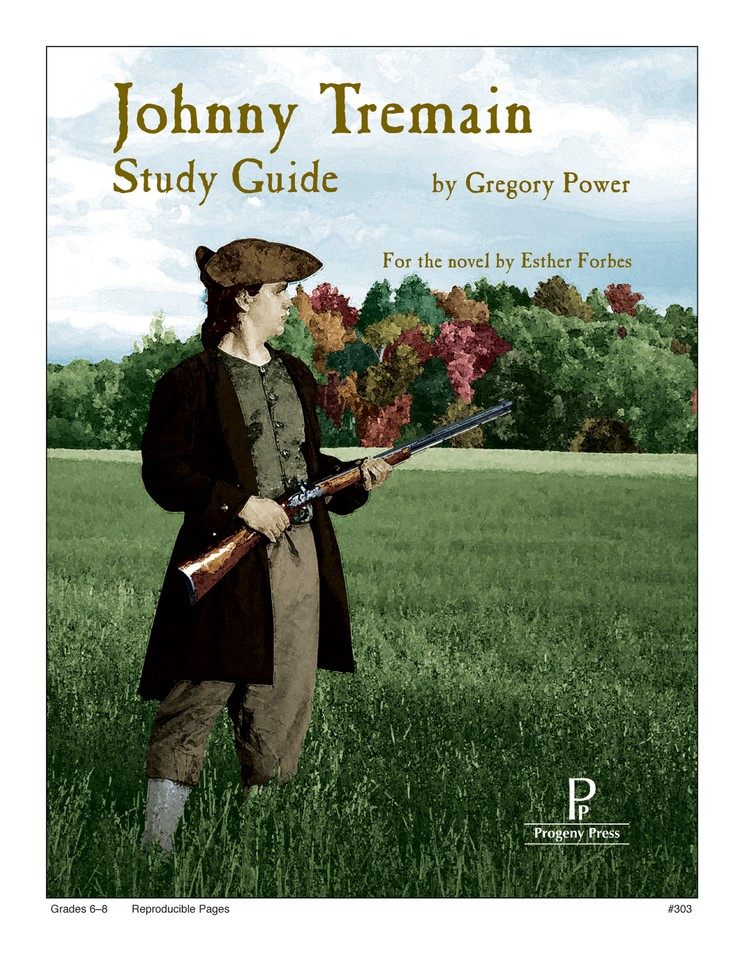 Johnny tremain progeny press study guide gregory power johnny tremain progeny press study guide gregory power 9781586093402 christianbook fandeluxe Image collections