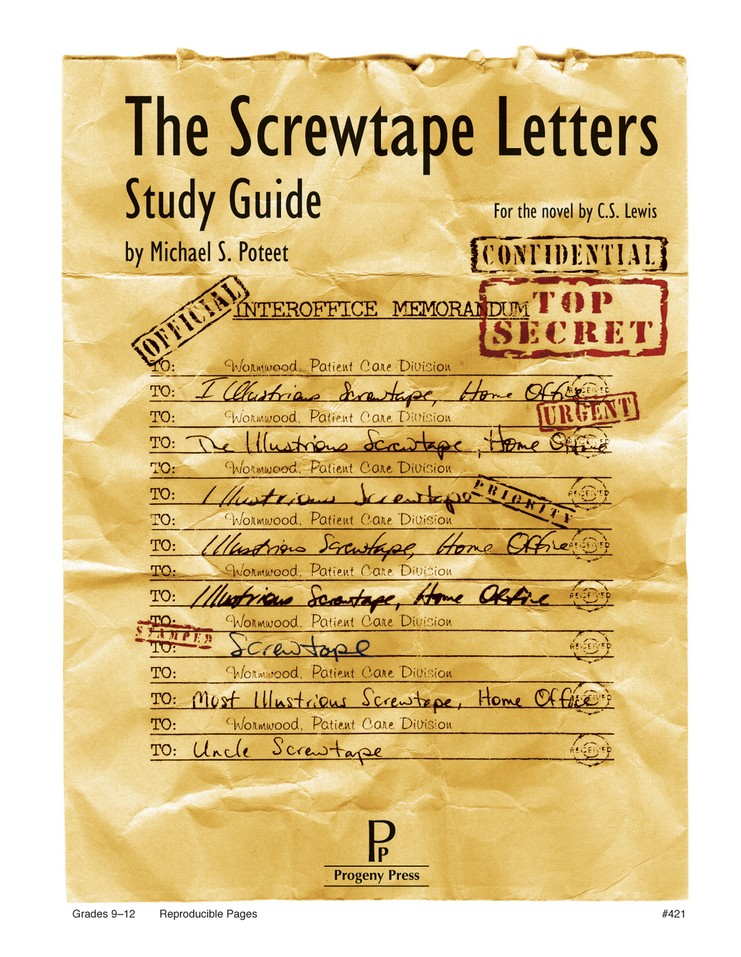 The Screwtape Letters Progeny Press Study Guide