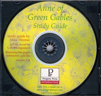 Anne of Green Gables Study Guide on CDROM
