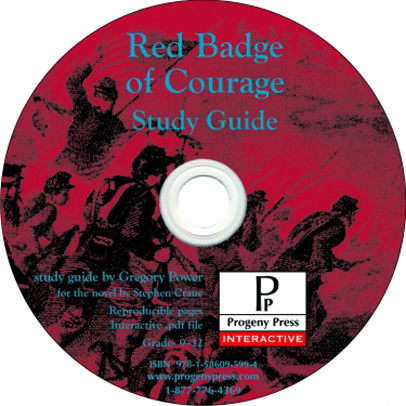 Red Badge of Courage Study Guide on CDROM