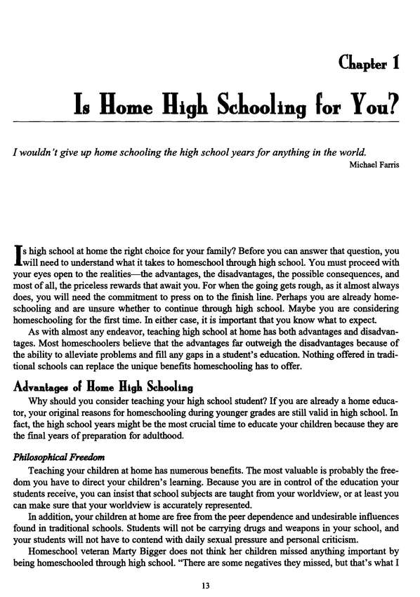 Homeschooling High School: Planning Ahead for College Admission, Revised