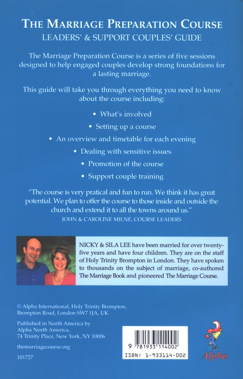Marriage Preparation Leader's Guide
