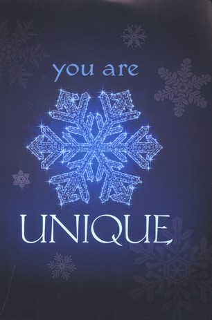 You Are Unique (KJV), Pack of 25 Tracts
