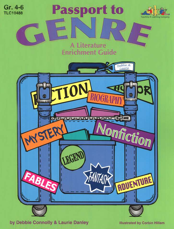 Passport to Genre: A Literature Enrichment Guide,  Grades 4-6