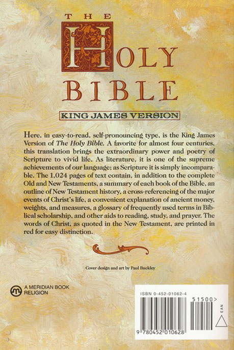 The Holy Bible: King James Version (KJV), Text Edition