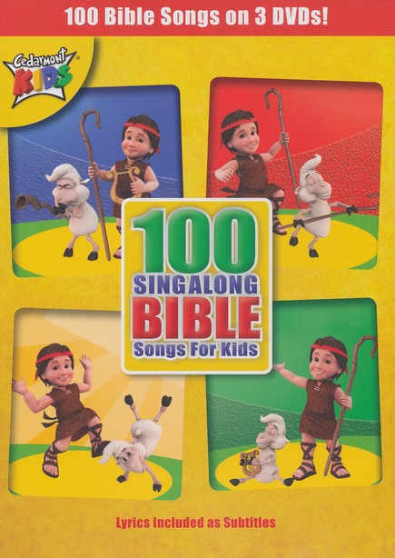 100 Singalong Bible Songs for Kids DVD