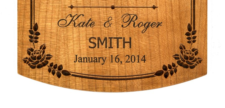 Love Chapter Plaque, Personalized