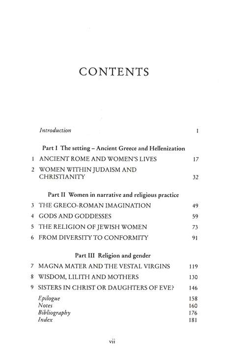 Women and Religion in the First Christian Centuries