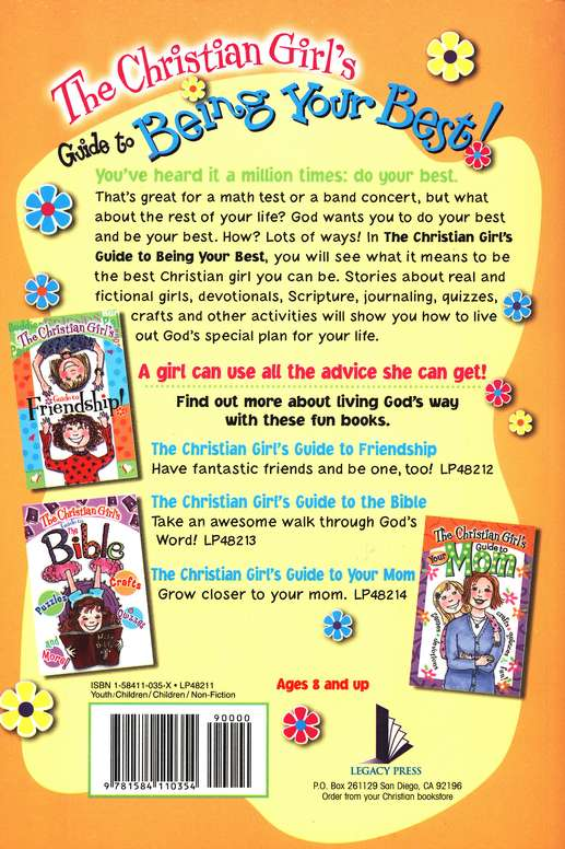 Christian Girl's Guide to Being Your Best!