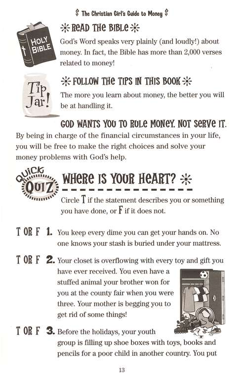 Christian Girl's Guide to Money