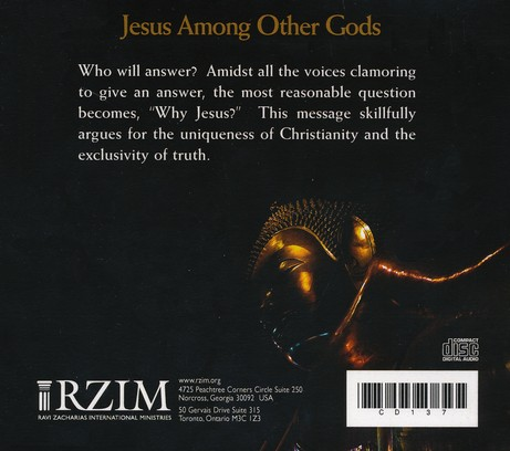 Jesus Among Other Gods Sermon CD