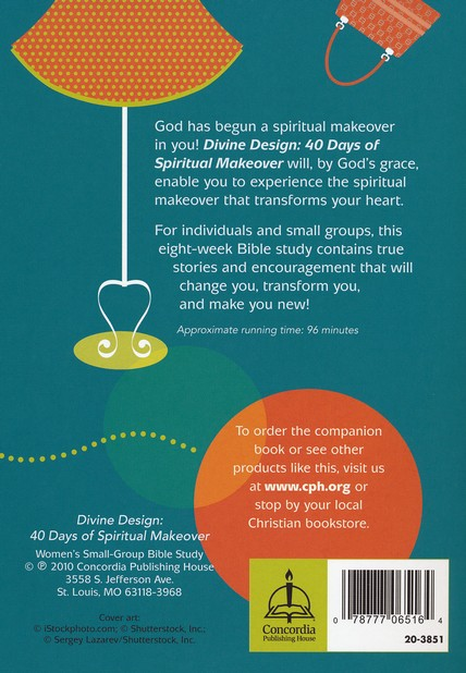 Divine Design: 40 Days of Spiritual Makeover, DVD