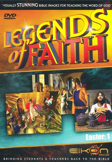 Legend of Faith: Easter Vol. 1, DVD