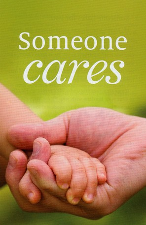 Someone Cares (KJV), Pack of 25 Tracts