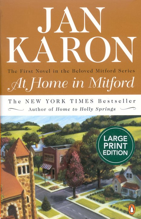 At Home in Mitford (large-print edition)