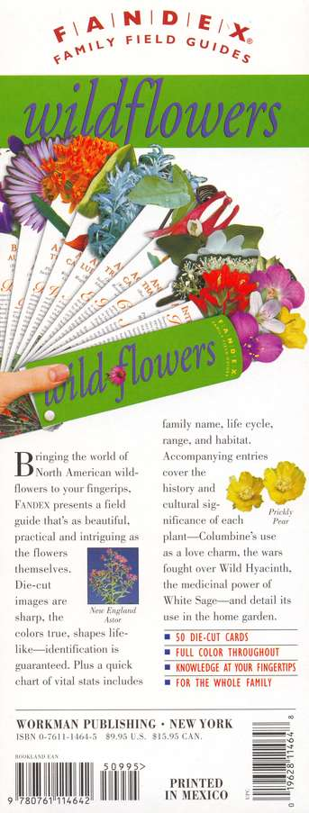 Fandex Field Guide: Wildflowers