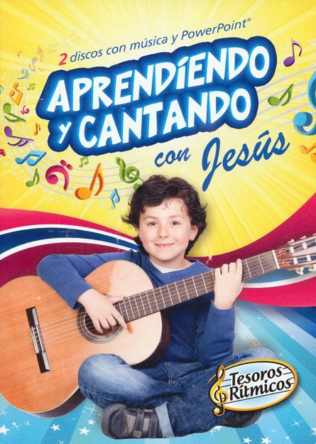 Tesoros Rítmicos: Aprendiendo y Cantando con Jesús  (Rhythmic Treasures: Learning and Singing with Jesus), DVD