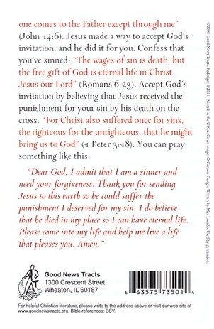 A Christmas Letter (ESV), Pack of 25 Tracts