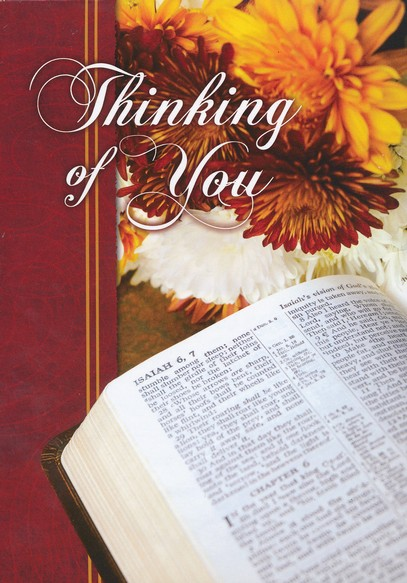 Thoughts from the Word, Box of 12 Assorted Thinking of You Cards