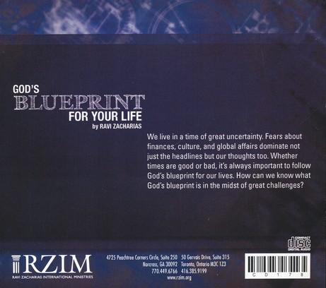 God's Blueprint For Your Life - CD