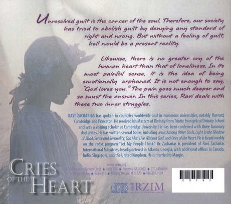 Cries of the Heart - CD