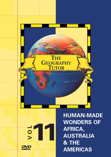 Geography Tutor: Human-Made Wonders of Africa, Australia & Americas DVD